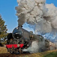 30777 Sir Lamiel GCR steam locomotive