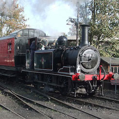 Bodiam Terrier Steam Locomotive
