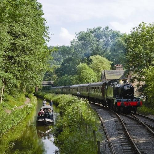 Churnet Valley Railway Staffordshire