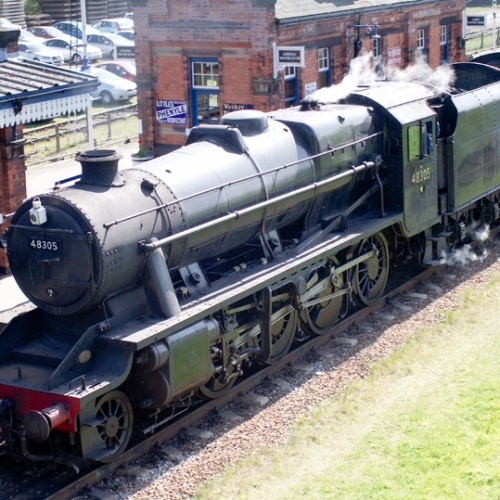 Drive a steam train at Loughborough with the Great Central Railway