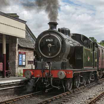 Drive a steam train experience in Staffordshire