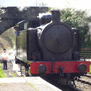 Drive a steam train in Bristol Avon