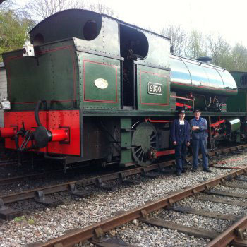 Drive the Mardy Monster Steam Locomotive