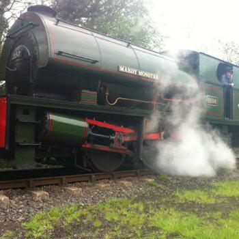 Mardy Monster Locomotive Yorkshire