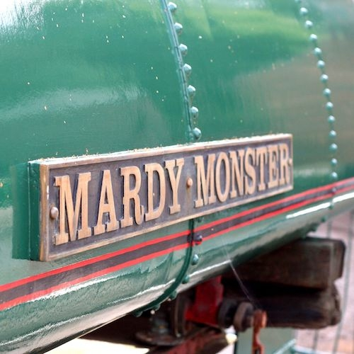 Mardy Monster - the ultimate steam driving experience day