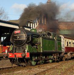 No. 1744 Great Central Railway Locomotive