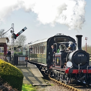 Train Driving Experience Day at Rolvenden