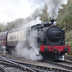 drive the avon valley railway Robert Stephenson Hawthorn 0-6-0T No.7151