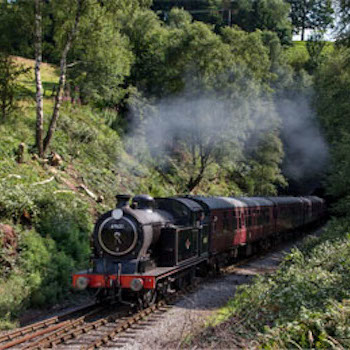 train driving experience in the Churnet Valley